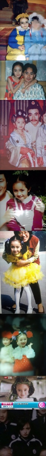 果然是亲爸爸啊!杨幂爸爸觉得她没有小时候好看 杨幂系童星出道