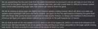 黑曜石调整 禁闭求生更新频率 6月底发布大型更新