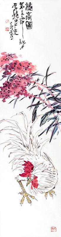 疏影横斜蕴灵气 浓淡相宜绽异姿——记青年画家孙万灵的花鸟意境