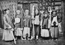 历史上的清朝士兵到底是什么样的 镜头之下无所事事