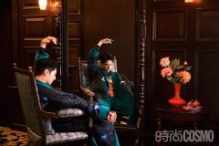 杨洋十一月封面大片 演绎老上海复古氛围大片