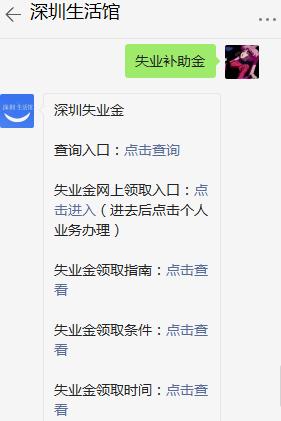 深圳失业保险待遇续发说明一览
