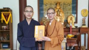 中国佛学院普陀山学院近百位学僧获佛经背诵奖