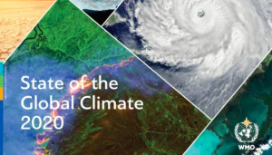 2020是有记录以来三个最暖年份之一!