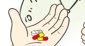 记住,这些药千万不要混着吃!有危险