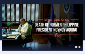 菲律宾媒体:菲前总统阿基诺三世去世