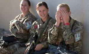 2/3的英国女兵在职业生涯中遭遇过性骚扰和歧视