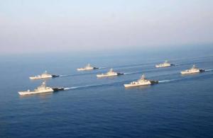 印度海军四艘舰艇驶向南海 搞双边军演
