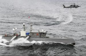"""美国加速研发无人舰艇作为对抗中国海军的""""王牌"""""""