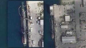 美国核潜艇南海撞击事件后 首张卫星照片公布