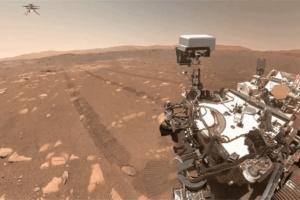 完成5次飞行还录了Vlog 火星无人机玩嗨了