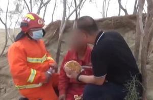 男子被困塔克拉玛干沙漠52小时:仅带一瓶矿泉水