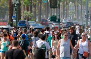 美国西部连日高温 多地刷新6月气温最高纪录