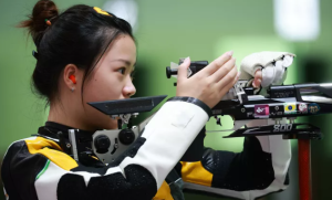 杨倩获东京奥运会首金