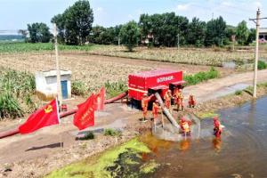 超过400家专业化防治服务组织投入河南减灾救灾
