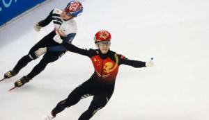短道速滑世界杯中国队2金1铜收官