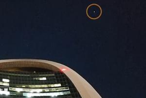 浪漫!中国空间站飞过人民日报社上空