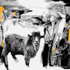 无事忙,马牛羊——著名画家李兆虬对艺术创作的自谦评述