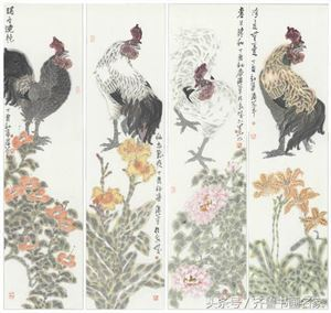 双勾取形,点彩冲破——著名画家王胜华的点彩写意花鸟画创作