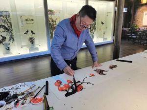 痴迷国画,钟情瓷绘——著名画家金大翁的求艺初心