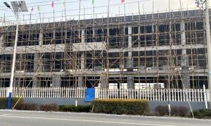 """山东省莱西经济开发区重点项目开工,积极贯彻落实""""项目落地年""""要求"""