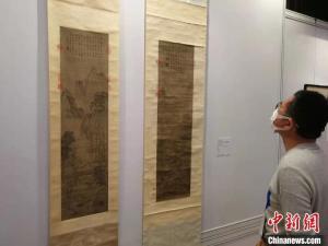 香港苏富比在沪举行春拍预展,估价过亿元的毕加索和常玉作品及清宫珍画亮相