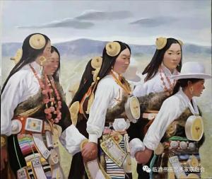 清新自然,色彩绚烂——著名画家马铁骊的油画欣赏