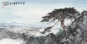 墨色苍润,不失灵秀——青年画家吴疆山水艺术的魅力