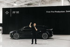 Faraday Future获得1亿美元债权融资,贾跃亭宣布FF91交付倒计时