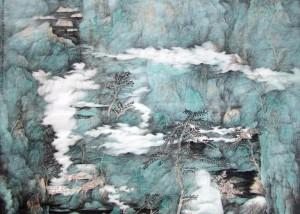 青年画家刘明谈画⑤:当代水墨的笔墨异化