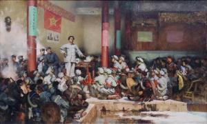 扬长避短——著名画家王明明谈中国画主题绘画创作