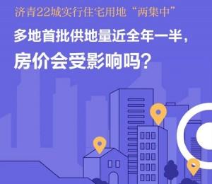 """济青等22城实行住宅用地""""两集中"""",房价会受影响吗?"""