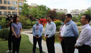 烟台市政协考察团调研潍坊恒信物业项目
