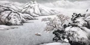 千里素雪,圣洁净美——著名画家马骏笔下的苍茫雪原