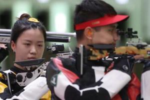 第9金!杨倩/杨皓然10米气步枪夹杂集体摘金