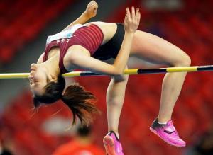 全运会女子跳高决赛陆佳雯1米92夺冠 刘肼毅亚军
