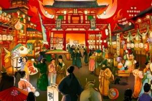 古代没有商场,人们都会去哪儿逛街?