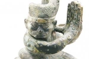 三星堆遗址考古发掘 文物数量多、制作精、造型奇