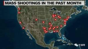CNN都看不下去了 默默发了一张带红点的地图!