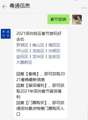 2021年春节深圳好去处推荐:盐田沙头角伯公坳盘山公路
