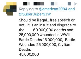 """只是巧合?特朗普""""复出""""演讲站的讲台被发现像""""纳粹""""符号,网友一顿批"""