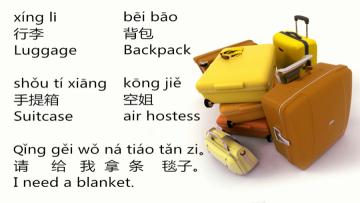 Lesson 209 Making Travel Arrangements 第二百零九课 旅行计划 (2)