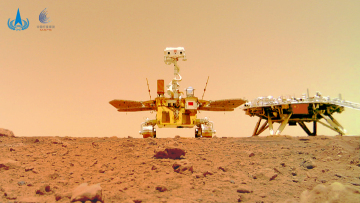 China releases Mars images taken by Zhurong rover