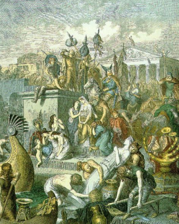 """开城门迎蛮族?比起拜占庭""""兄弟"""",罗马人为何更爱蛮族人?"""