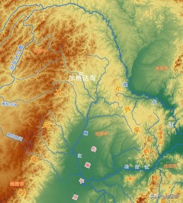黑龙江省大兴安岭地区行政中心加格达奇,为何在内蒙古?
