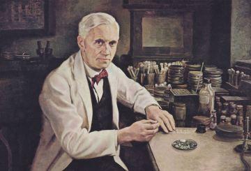 丘吉尔资助弗莱明读书,弗莱明发明青霉素治好他的肺炎?