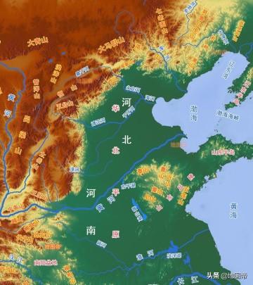 河南、河北以黄河为界,还是以漳河为界?