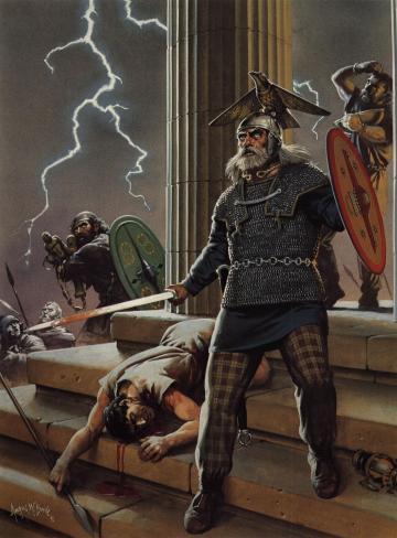 凯尔特人:别把我们当成日耳曼蛮子,我们滥杀但还是有神的文明人