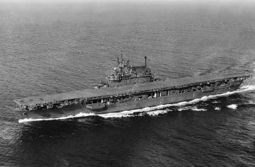 二战中企业号航母有多神勇?击沉71艘敌舰,击落911架敌机