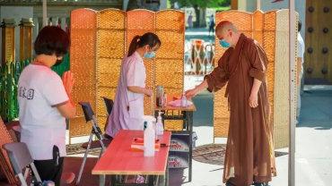 """十方聚力 众志成城丨福建佛教界""""抗疫""""在行动"""